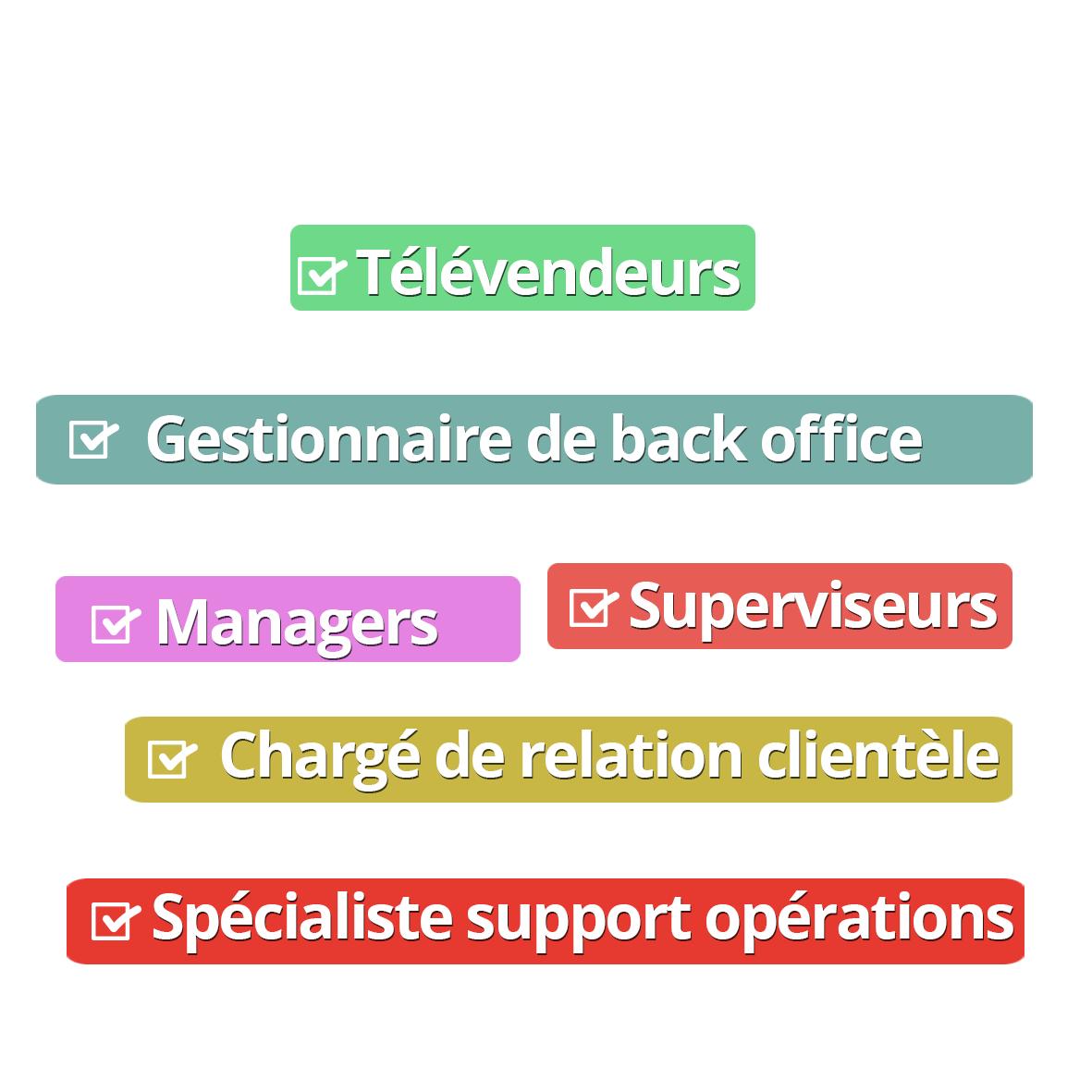Formation aux métiers de la relation clientèle - Togo bénin mali Burkina Faso Cameroun Sénégal Niger